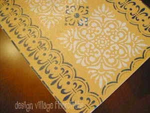 French Country Table Runner