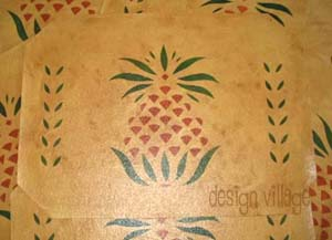 Early American Pineapple Placemats