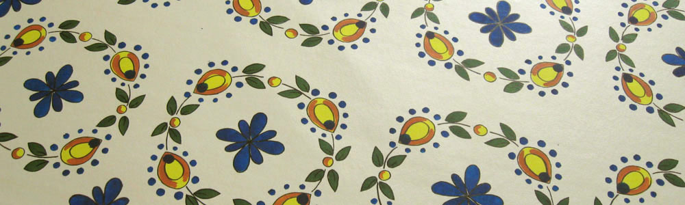 Talavera Tiles Floorcloth