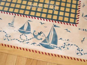 Nantucket Floorcloth