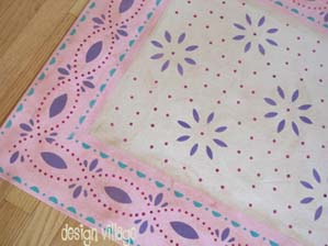 Princess Ann Floorcloth