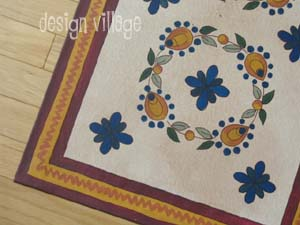Custom Tiles Floorcloth