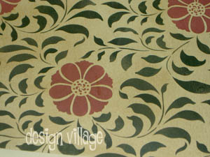 Valley of Flowers Floorcloth #2