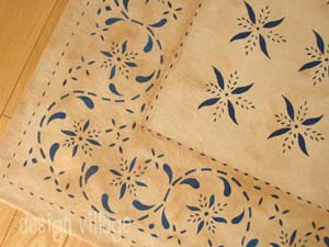 May House Floorcloth 8