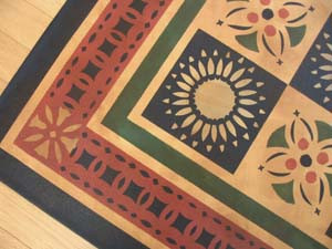 Eaton Moses Quilt Floorcloth