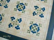 Baltimore Quilt floorcloth