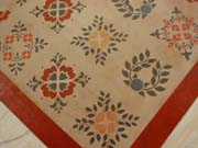 Sampler Floorcloth