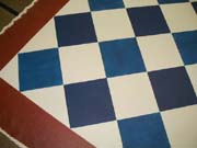 Diamond Pattern floorcloth