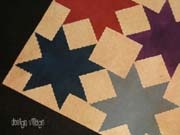 Star Quilt floorcloth