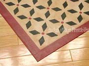 Weston Colonial Floorcloth