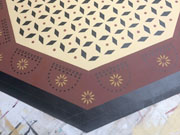 Octagon Floorcloth