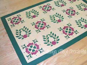Baltimore Quilt Floorcloth #2