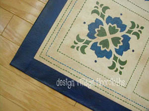 Baltimore Quilt Floorcloth #3